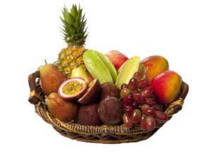 Obstkorb fürs Büro