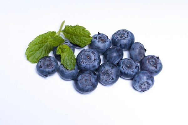 Obst Heidelbeeren