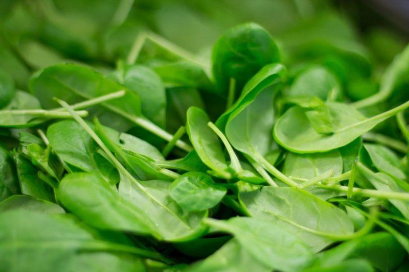 Baby Spinat Gemüse